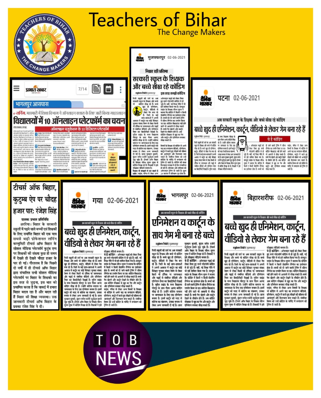 Teachers of Bihar , 02.06.2021