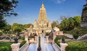 बोधगया में महाबोधि मंदिर